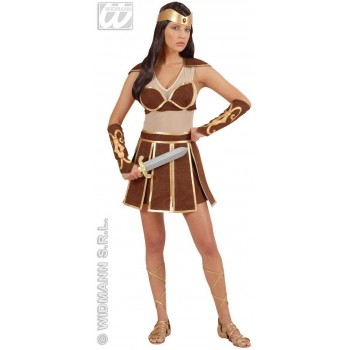 Amazon With Dress, Armbands, Headband Fancy Dress (Cultures)