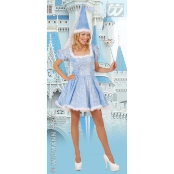 Starry Fairy With Dress, Hat With Veil Fancy Dress (Fairy Tales)