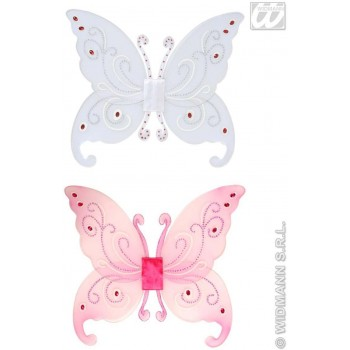 Fantasy Glitter Wings W/Gems 85X88Cm - Fancy Dress