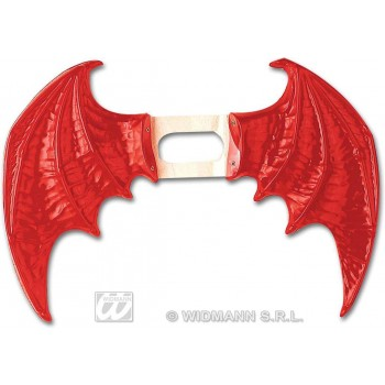 Devil Wings Red Maxi - Fancy Dress (Halloween)