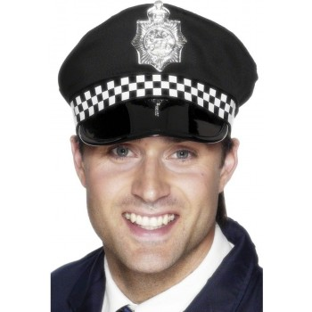 Police Panda Cap - Fancy Dress (Cops/Robbers)