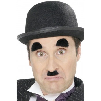 Chaplin Tash And Eyebrows - Fancy Dress Mens