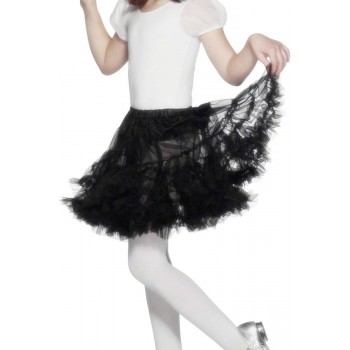Petticoat Black - Fancy Dress Girls