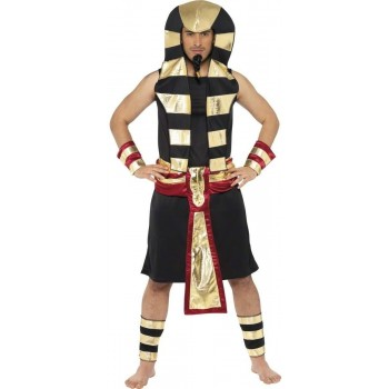 Pharaoh Fancy Dress Costume Mens Size 38-40 S (Egyptian)