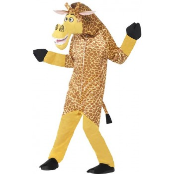Childs Madagascar Melman The Giraffe All in One Fancy Dress Costume