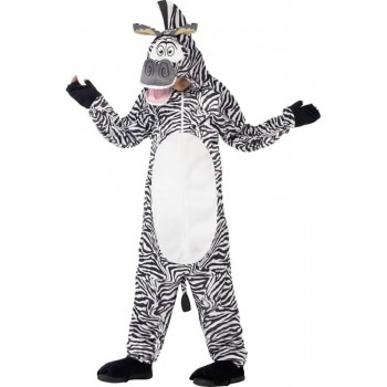 ChIlds Madagascar Marty The Zebra Onesie Fancy Dress Costume