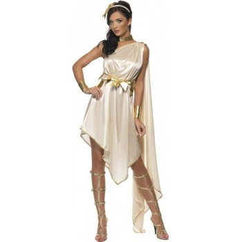 Fever Sexy Goddess Fancy Dress Costume Ladies (Greek , Roman)