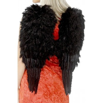 Feather Angel Wings - Fancy Dress Ladies (Vicars/Nuns)