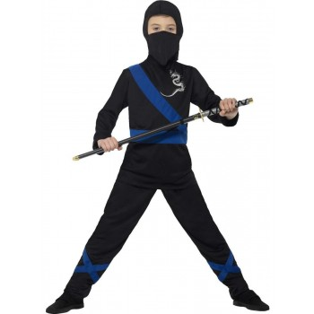 Ninja Assassin Costume Fancy Dress
