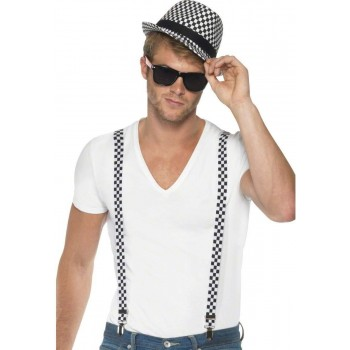 Ska Two Tone Instant Kit Fancy Dress Mens