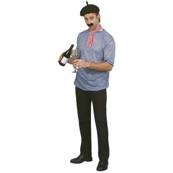 French Man Set - Fancy Dress Mens (French)