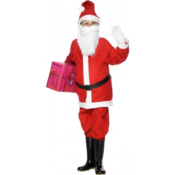 Santa Boy Fancy Dress Costume Boys (Christmas)