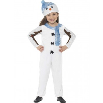 Snowman Toddler Costume Fancy Dress