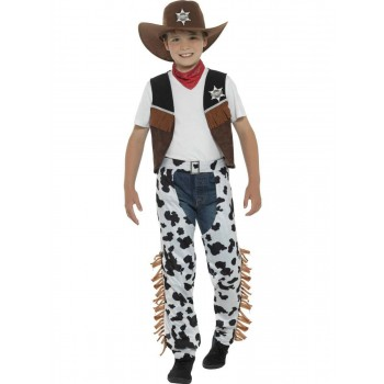 Texan Cowboy Costume Fancy Dress
