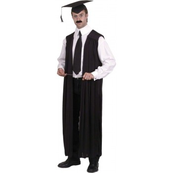 Teachers Gown - Fancy Dress Mens (School)