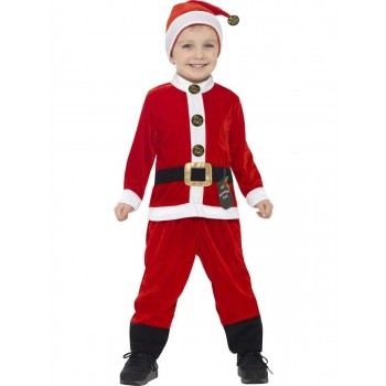 Santa Toddler Costume 3-4 Years Fancy Dress