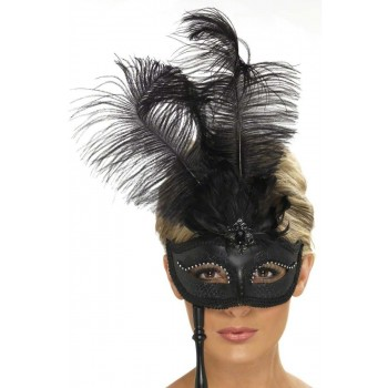 Baroque Fantasy Eyemask Fancy Dress Ladies