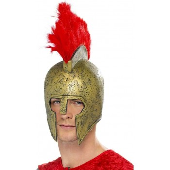 Perseus Gladiator Helmet Fancy Dress Mens
