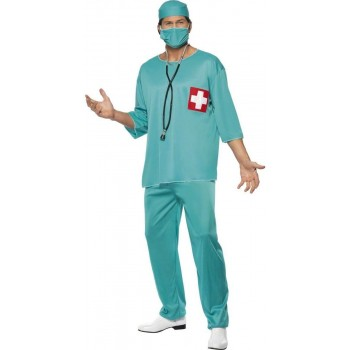 Surgeon Fancy Dress Costume Mens (Doctors/Nurses)