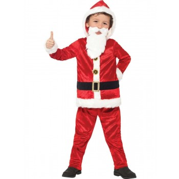 Jolly Santa Costume Fancy Dress