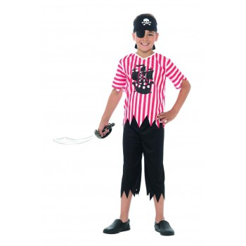 Jolly Pirate Boy Costume Fancy Dress