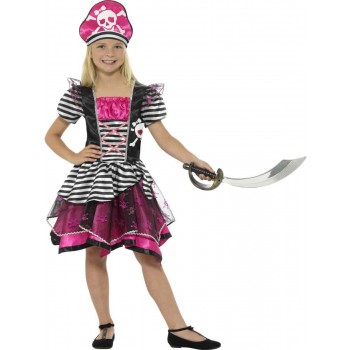 Perfect Pirate Girl Costume Fancy Dress