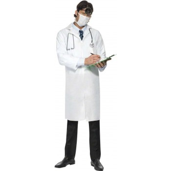 Doctor'S Fancy Dress Costume Mens (Doctors/Nurses)