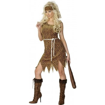 CAVEWOMAN FANCY DRESS COSTUME LADIES (CAVEMEN)