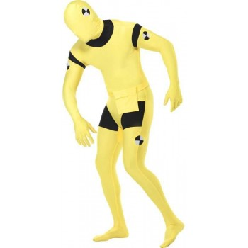 Second Skin Suit, Crash Dummy Fancy Dress Costume