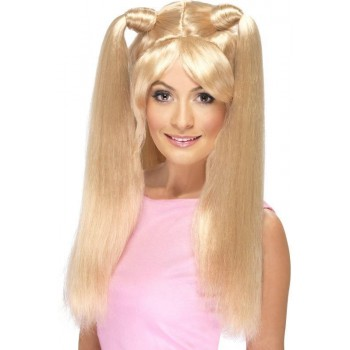Baby Power Wig (1990S Fancy Dress Wigs) - Blonde