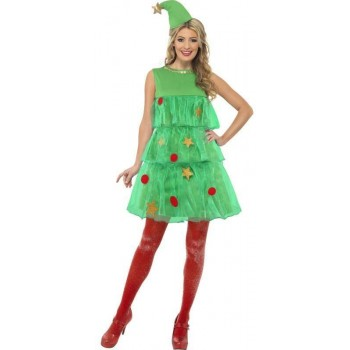 Christmas Tree Tutu Fancy Dress Costume