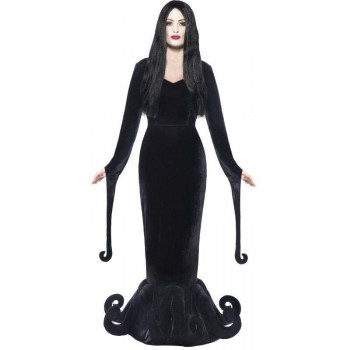 Ladies Black Duchess Of The Manor  (Fancy Dress Costume)