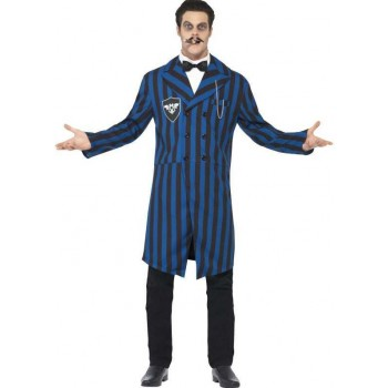 Mens Black/Blue Duke Of The Manor  (Fancy Dress Costume)