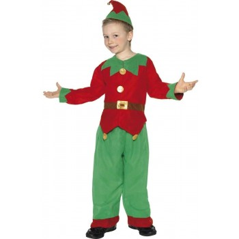 Elf Fancy Dress Costume Boys (Christmas)