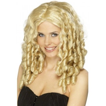 Blonde Film Star Wig - Fancy Dress Ladies - Blonde