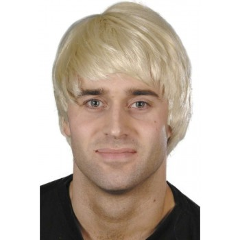 Guy Wig - Fancy Dress Mens - Blond