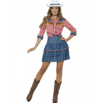 Rodeo Doll Costume Fancy Dress