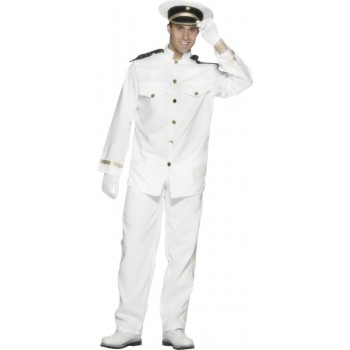 Captain Fancy Dress Costume Mens (Sailor)