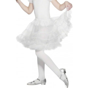 Petticoat White - Fancy Dress Girls