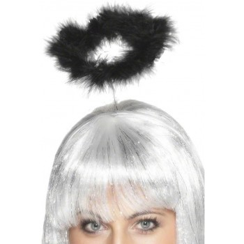 Marabou Angels Halo - Fancy Dress Ladies (Vicars/Nuns)