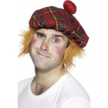 Tam-O-Shanter Hat - Fancy Dress Mens