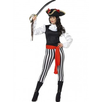 Pirate Lady Costume, with Top Fancy Dress