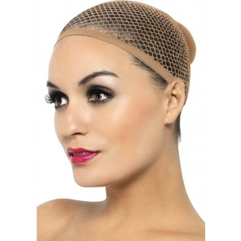 Nude Mesh Wig Cap Fancy Dress Accessory