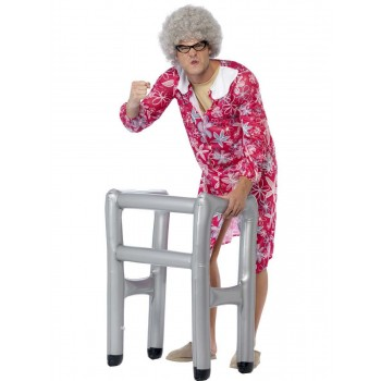 Inflatable Zimmer Frame Fancy Dress Accessory
