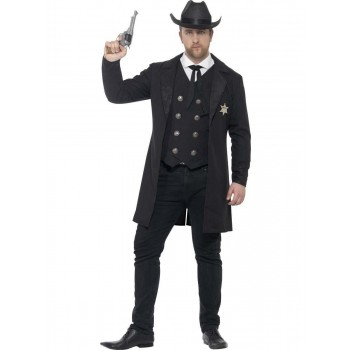 Curves Sheriff Costume Fancy Dress