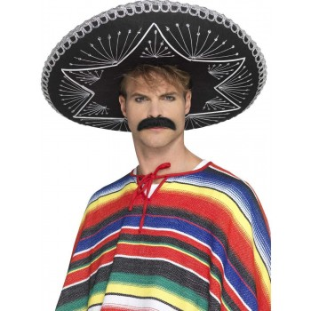 Deluxe Authentic Sombrero Fancy Dress Accessory