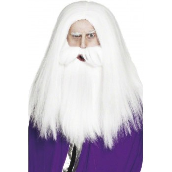 Magician Set - Fancy Dress Mens - White