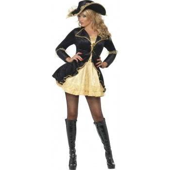Fever Swashbuckler Fancy Dress Costume Ladies