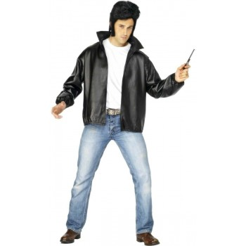 T-Bird With Embroidered Logo Jacket Fancy Dress Costume (Film)