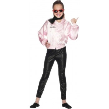 Pink Lady Jacket Fancy Dress Costume Girls (Film)